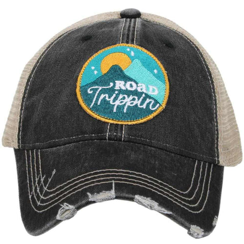 Katydid Glamping Hair Don't Care Trucker Hats