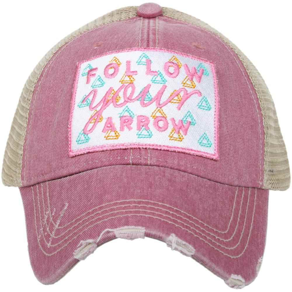 Follow Your Arrow Women's Trucker Hats