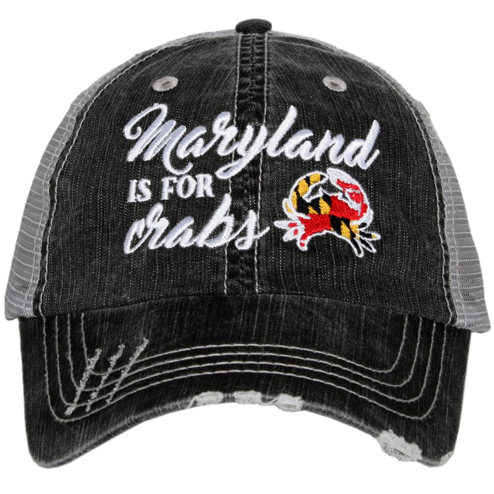 Katydid Maryland is for Crabs Trucker Hats - Katydid.com