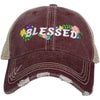 Katydid Blessed Flowers Trucker Hats - Katydid.com