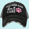Katydid Dog Park Hair Don't Care Trucker Hats - Katydid.com