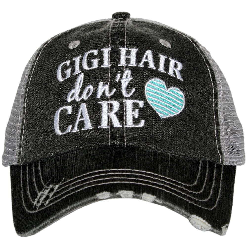 Katydid Gigi Hair Don't Care Trucker Hats - Katydid.com