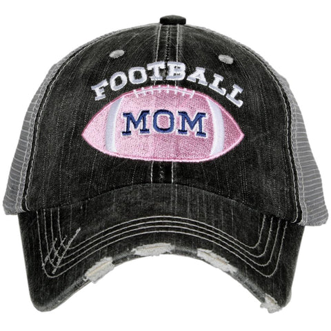 Football Mom SIDE PATCH Trucker Hat