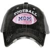 Katydid Pink Football Mom Trucker Hats - Katydid.com