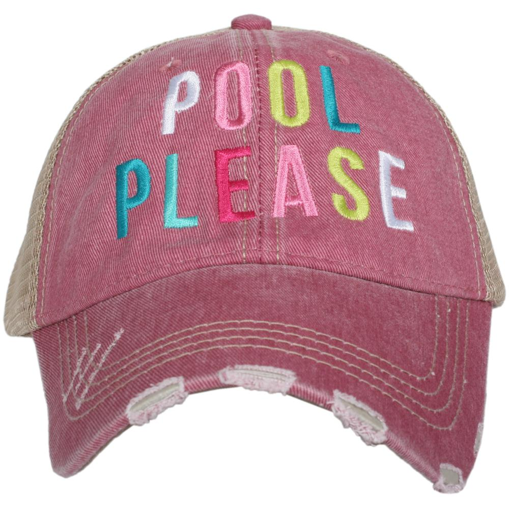 Katydid Pool Please Women's Trucker Hats - Katydid.com