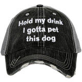 Katydid Gotta Pet This Dog Trucker Hats - Katydid.com