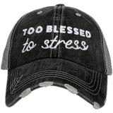 Katydid Too Blessed Trucker Hats - Katydid.com