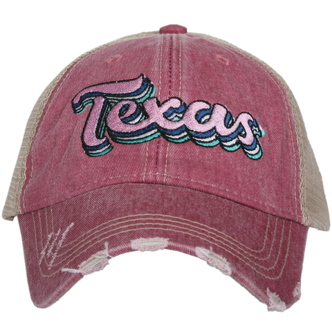 Katydid Alabama Pastel Plaid Trucker Hats
