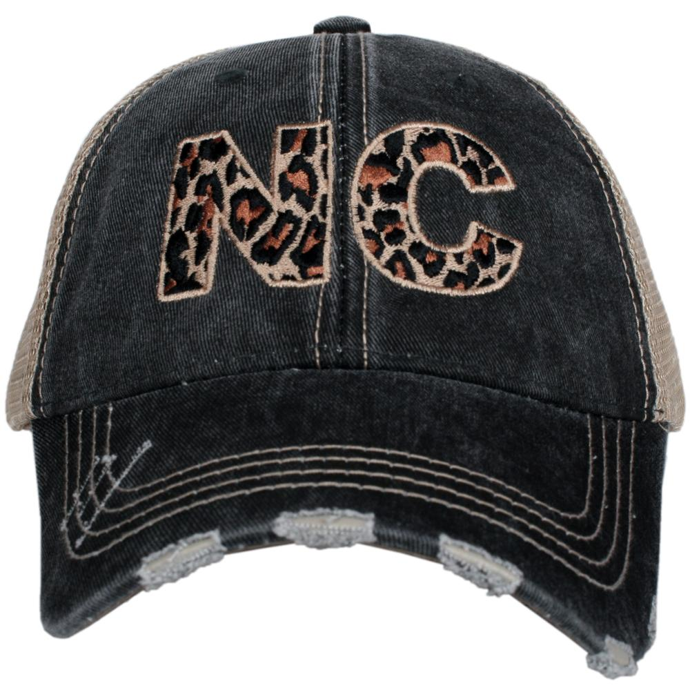 Katydid NC North Carolina Leopard State Women's Hat - Katydid.com