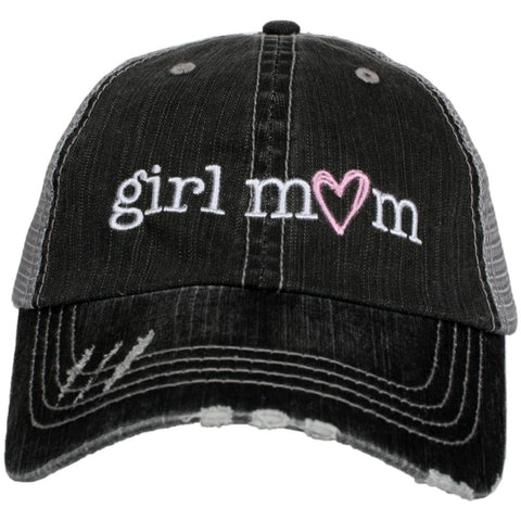 Katydid My Heart Belongs To My Dog Trucker Hats