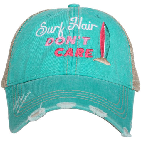 Katydid Long Island ANCHOR Hair Don't Care  Trucker Hats
