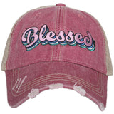 Katydid Blessed Layered Trucker Hats - Katydid.com