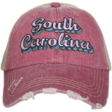 Katydid South Carolina Layered Trucker Hats - Katydid.com