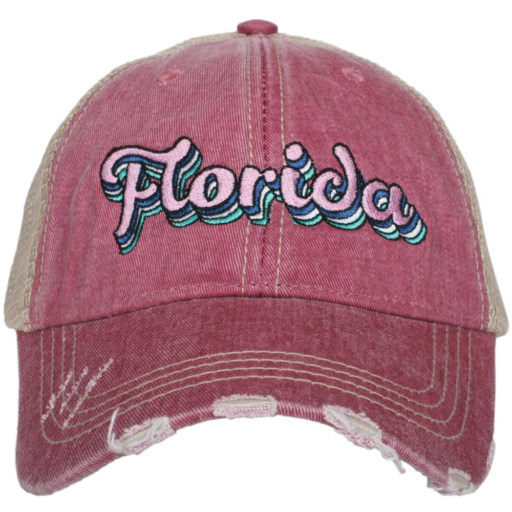 Katydid Florida Layered Trucker Hats - Katydid.com