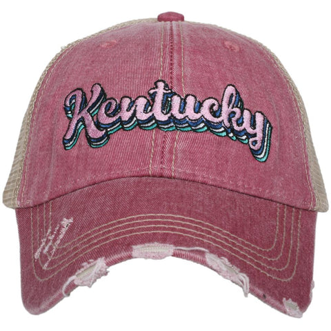 Katydid Mississippi Layered Trucker Hats