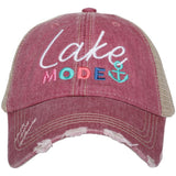 Katydid Lake Mode Women's Trucker Hats - Katydid.com