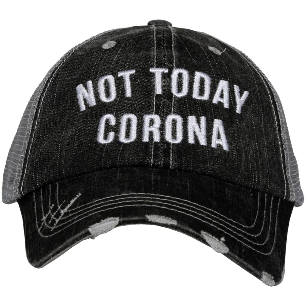 Not Today Corona Women's Trucker Hat - Katydid.com