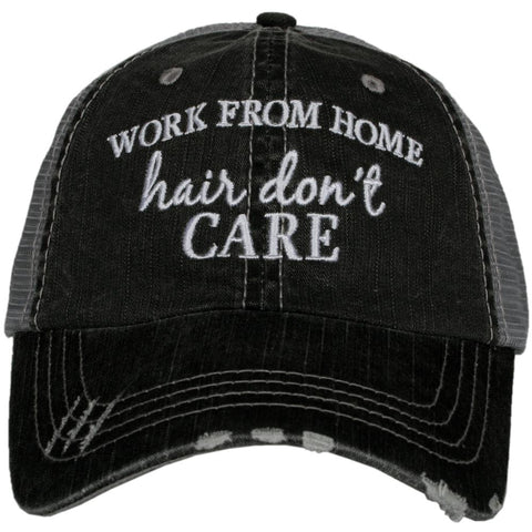 Lacrosse Hair Don't Care Trucker Hat