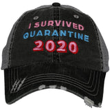 Katydid I Survived Quarantine 2020 Trucker Hats - Katydid.com