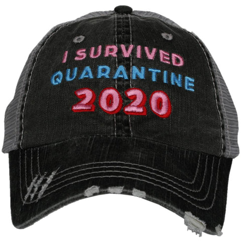 Katydid I Survived the Lockdown of 2020 Trucker Hats