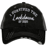Katydid I Survived the Lockdown of 2020 Trucker Hats - Katydid.com