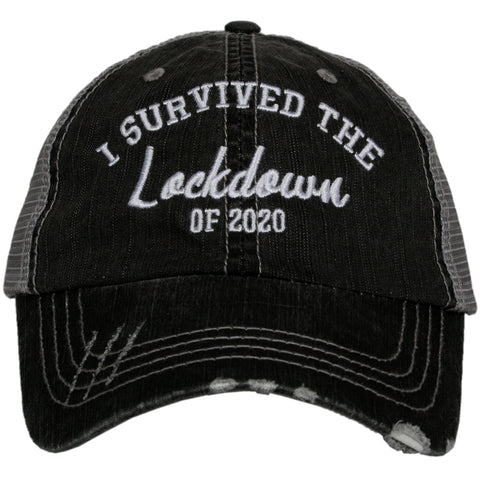 Katydid I Survived Quarantine 2020 Trucker Hats