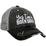 Katydid Yes I'm a Biden Girl Women's Trucker Hat