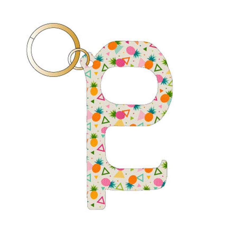 Pineapple Hands Free Key Chain | Stocking Stuffer