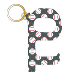Baseball Hands Free Key Chain