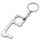 Metal Hands Free Key Chain & Door Opener - 4 colors