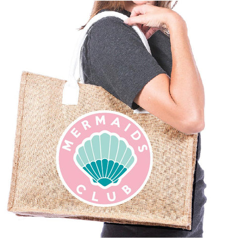 Katydid Beach Hair Don't Care Tote Bags