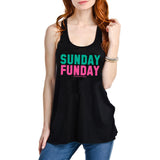 Sunday Funday Graphic Tank Top - Katydid.com