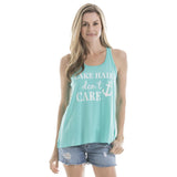 Katydid Lake Hair Don't Care Tank Tops - Katydid.com