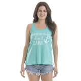 Katydid Beach Hair Don't Care Tank Tops - Katydid.com