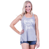 Katydid Faith Over Fear Tanks - Katydid.com
