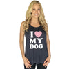 Katydid I Love My Dog Tank Tops - Katydid.com