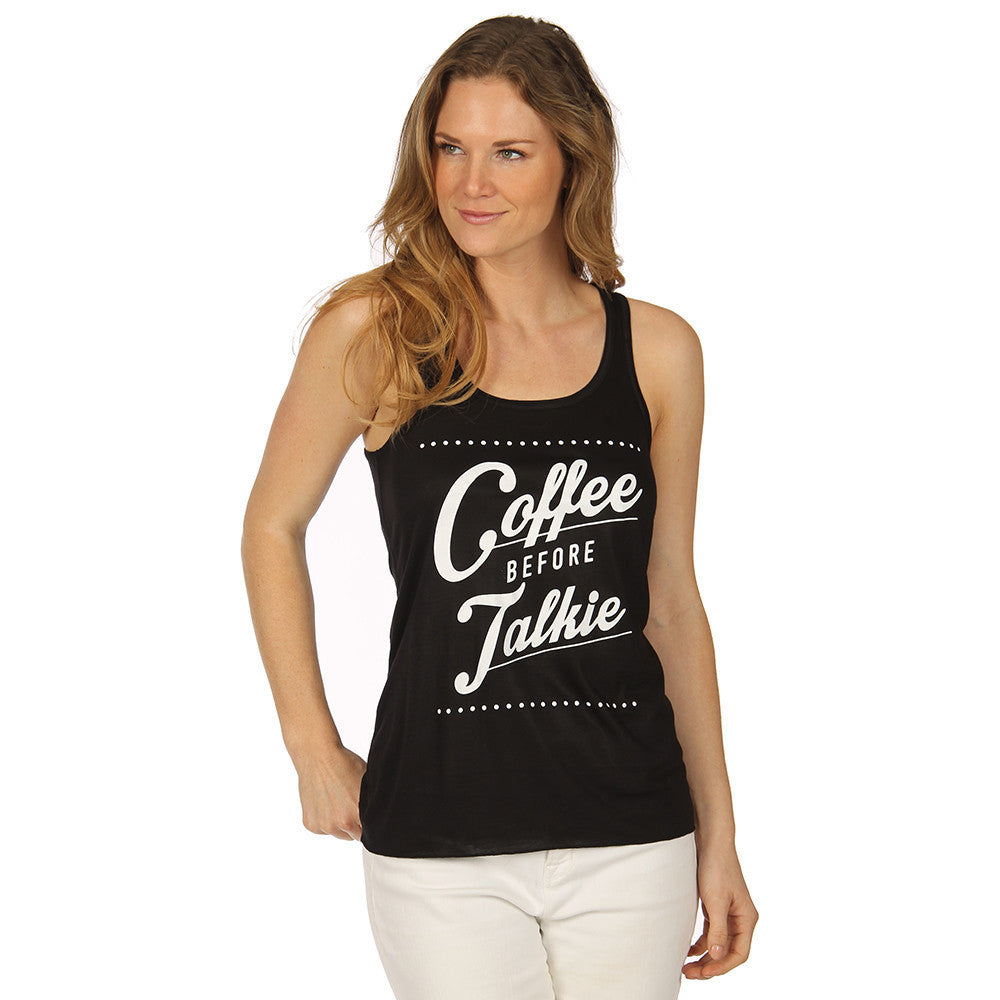 Coffee Before Talkie Tank Top - Katydid.com