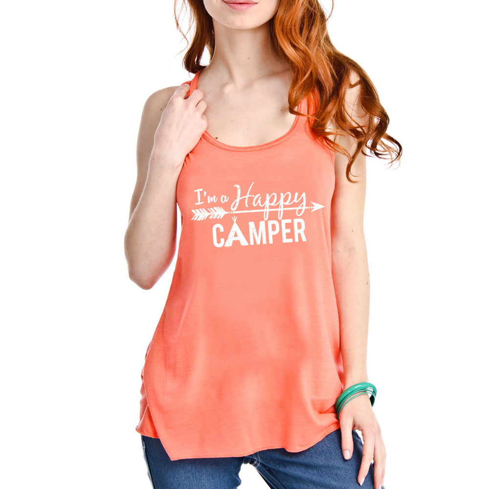Happy Camper Women's Tank Top - Katydid.com