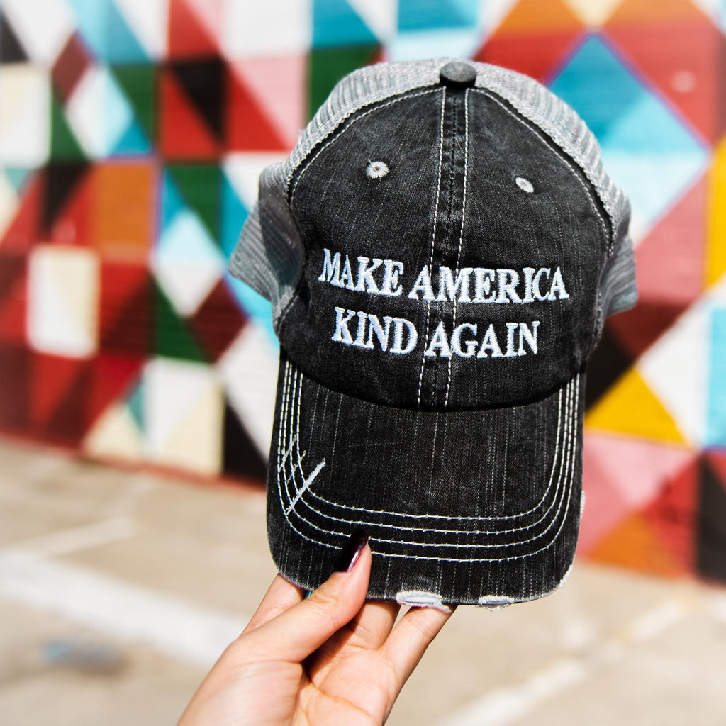 Katydid Make America Kind Again Trucker Hats