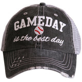 Gameday is the Best Day (BASEBALL) Trucker Hat