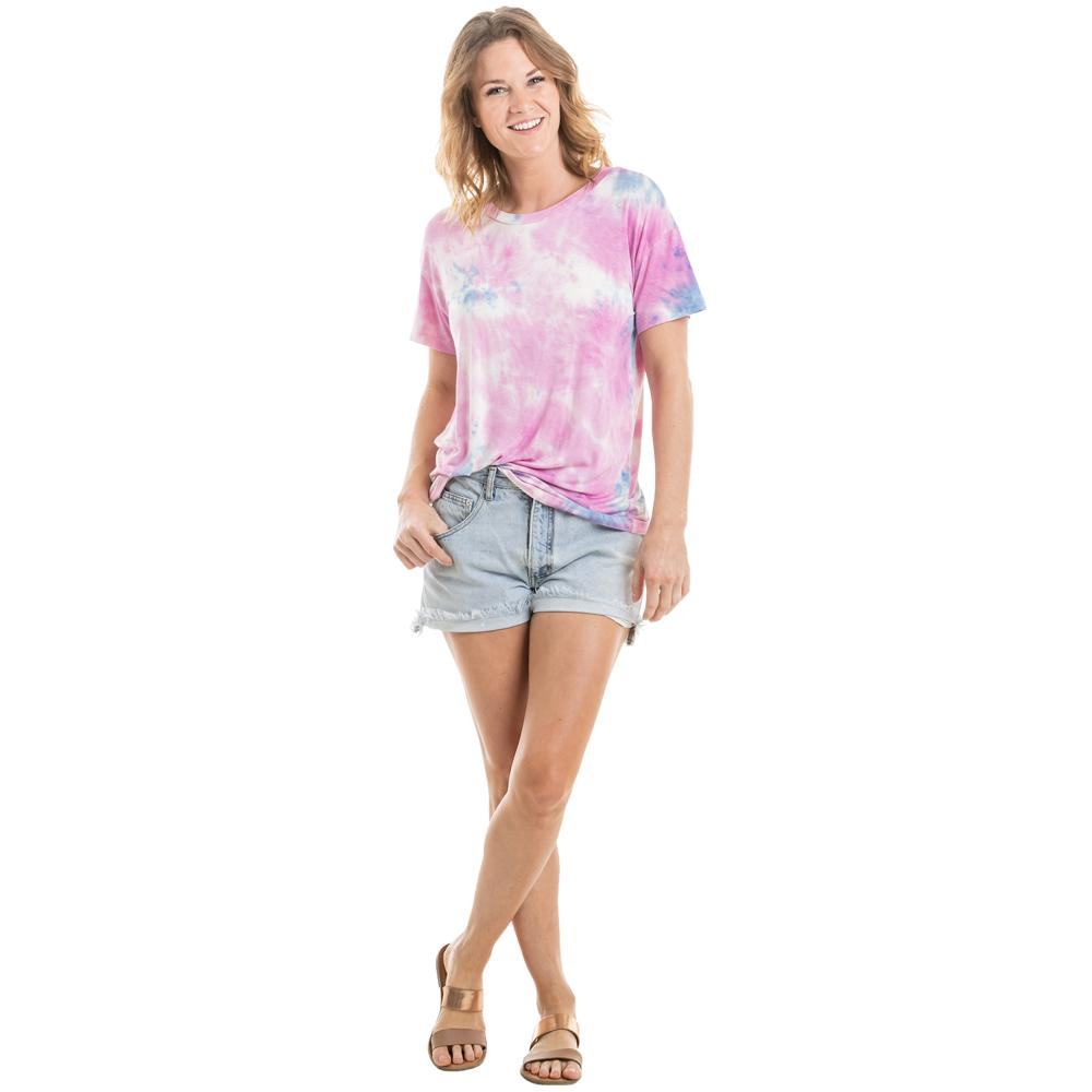 Lilac and Purple Tie Dye T-Shirt