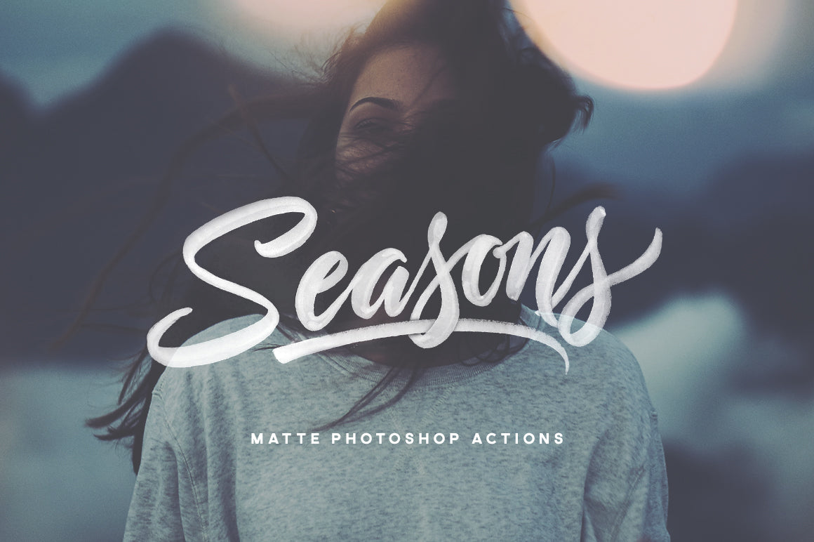 Seasons - Photoshop Actions