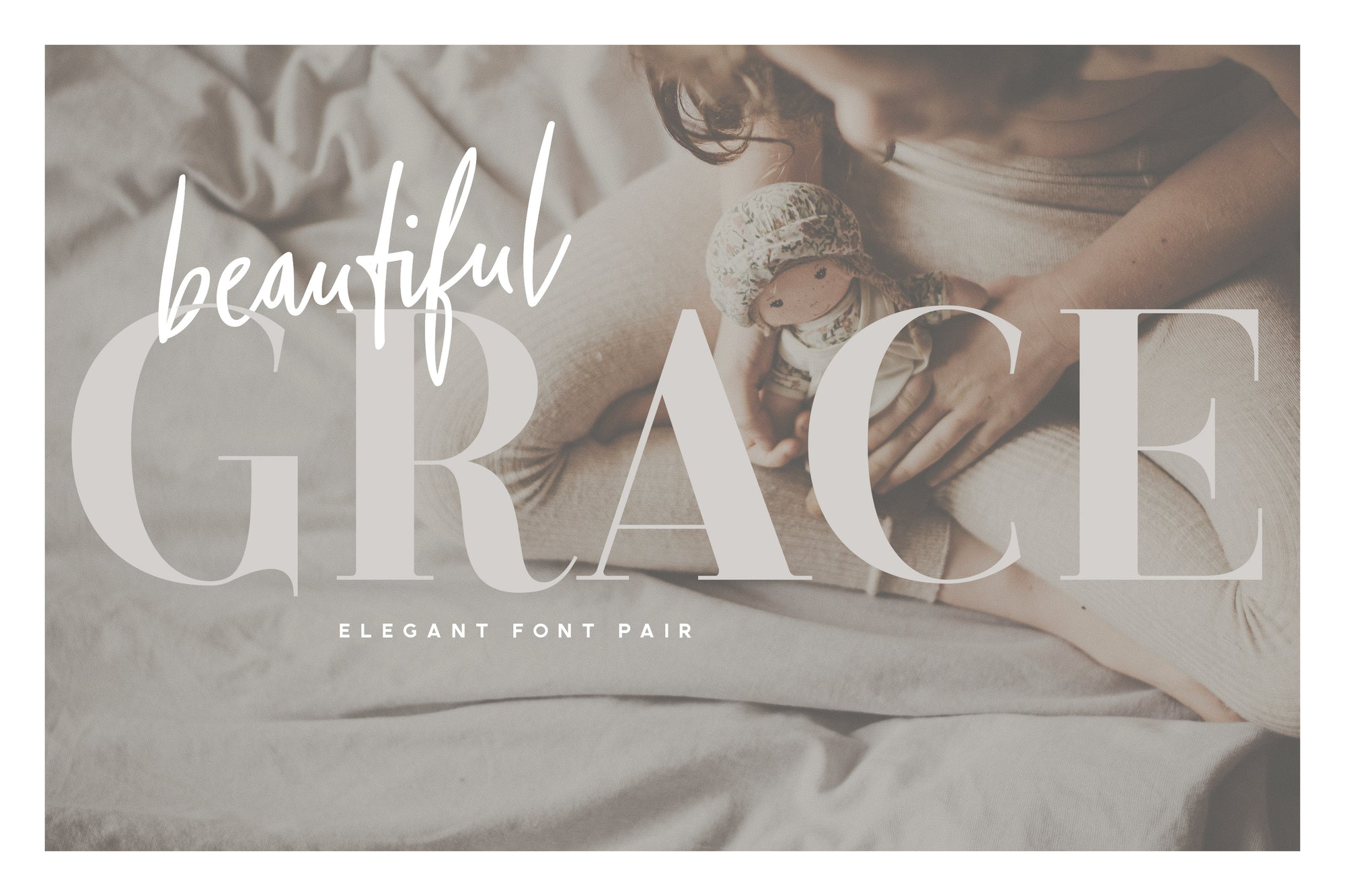 Beautiful Grace - Font Pair