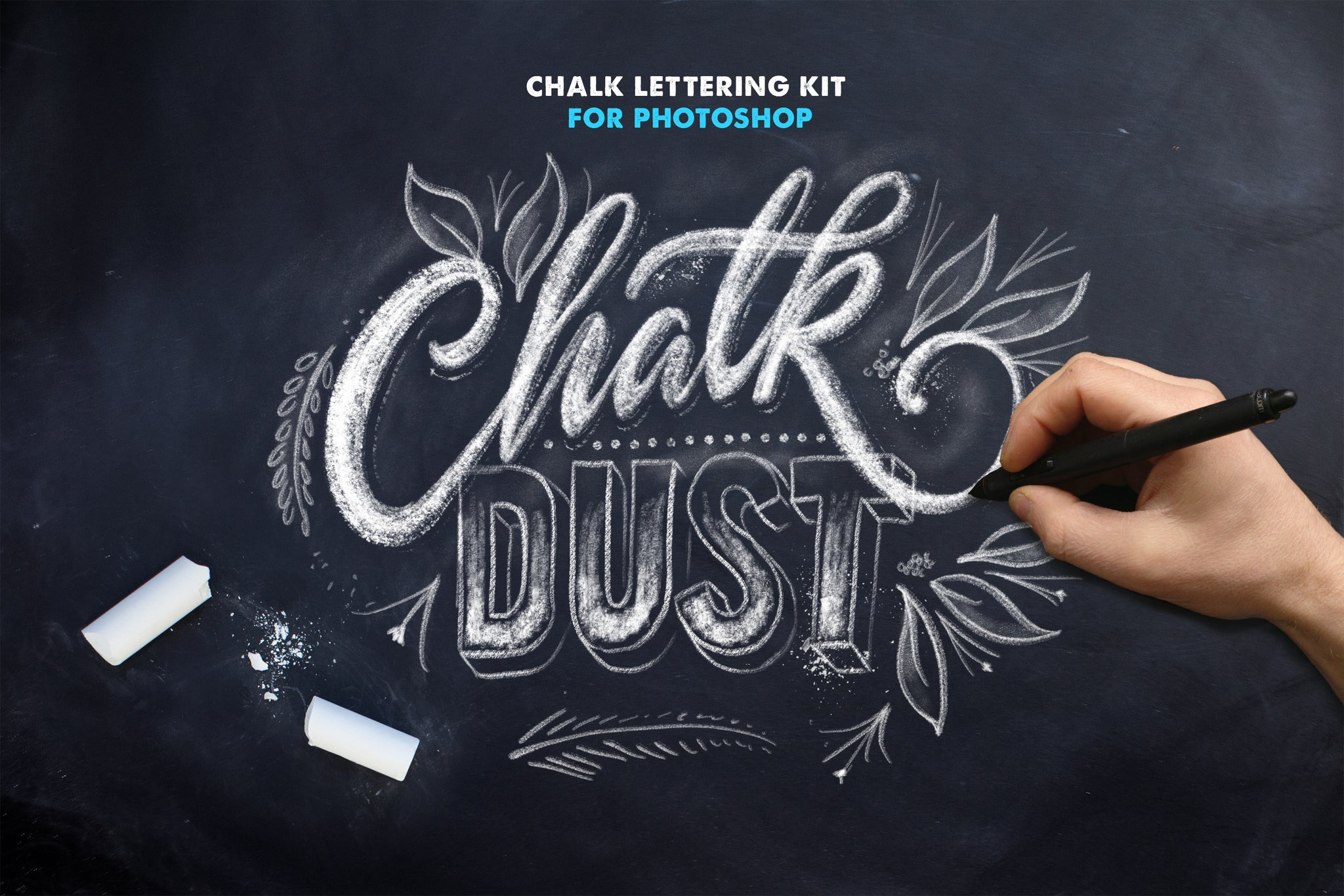 ChalkDust - Photoshop Lettering Kit