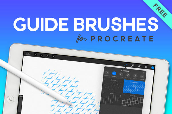 Free Guide Brushes for Procreate