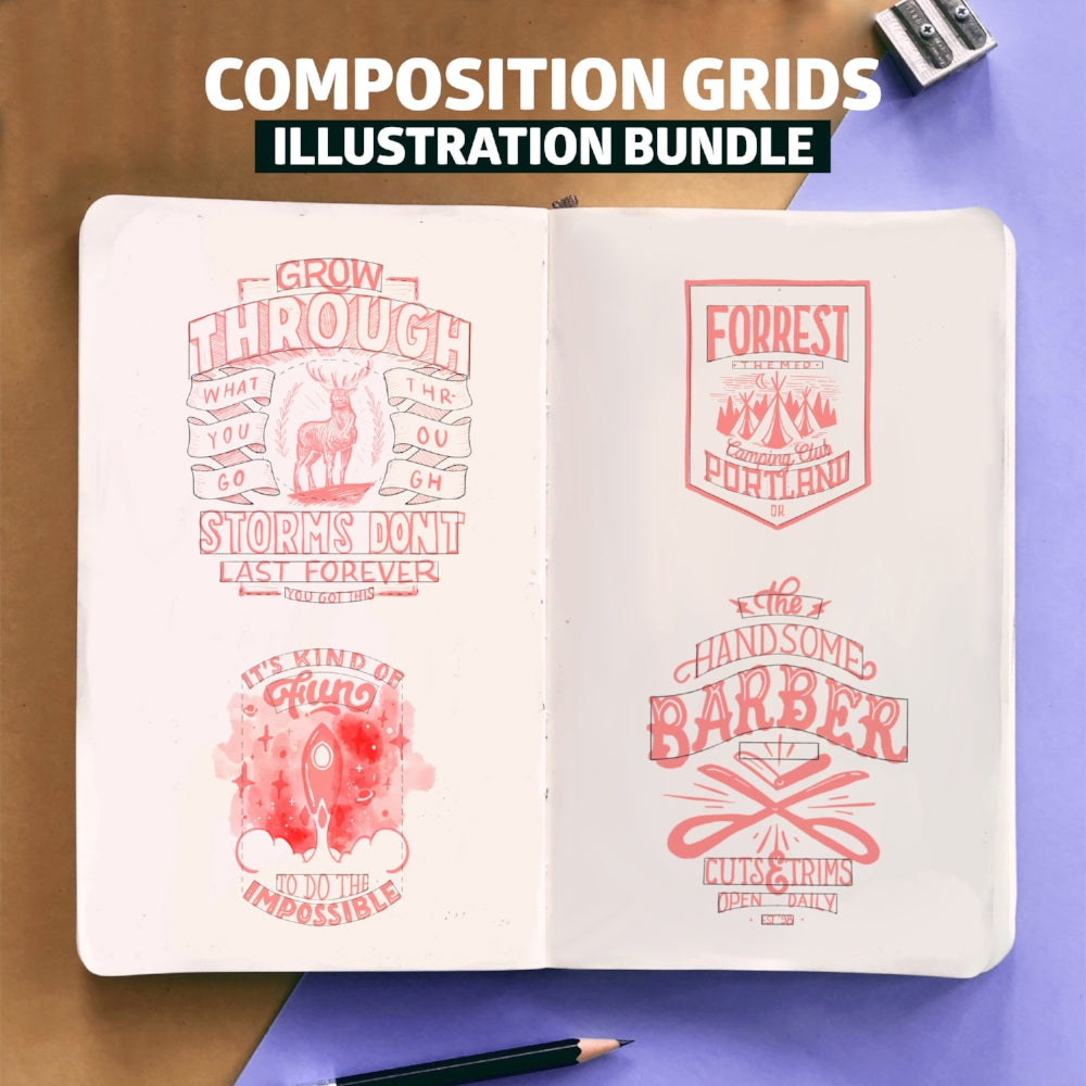 Composition Grids Mega Bundle