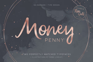 Money Penny Typeface