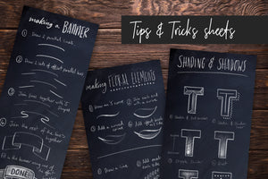 Chalk Dust - Procreate Lettering Kit
