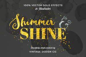 Shimmer & Shine: 100% Vector Gold