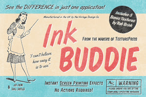 InkBuddie - Screen Printing Effects